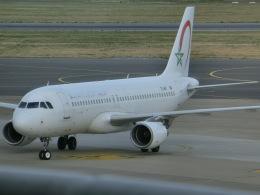 ヒロリンさんが、ブリュッセル国際空港で撮影したロイヤル・エア・モロッコ A320-214の航空フォト(飛行機 写真・画像)
