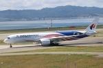 水月さんが、関西国際空港で撮影したマレーシア航空 A350-941XWBの航空フォト(写真)