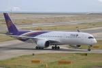 水月さんが、関西国際空港で撮影したタイ国際航空 A350-941XWBの航空フォト(写真)