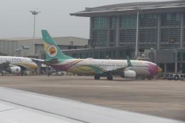 KKiSMさんが、ヤンゴン国際空港で撮影したノックエア 737-86Jの航空フォト(飛行機 写真・画像)