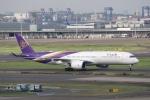 mitsuru1さんが、羽田空港で撮影したタイ国際航空 A350-941XWBの航空フォト(写真)
