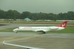 KKiSMさんが、ヤンゴン国際空港で撮影したマンダレー航空 ERJ-145LRの航空フォト(写真)