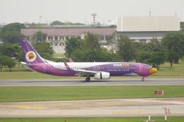 KKiSMさんが、ドンムアン空港で撮影したノックエア 737-88Lの航空フォト(飛行機 写真・画像)