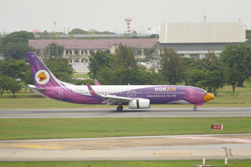 KKiSMさんのノックエア Boeing 737-800 (HS-DBU) 航空フォト