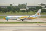 KKiSMさんが、ドンムアン空港で撮影したノックエア 737-88Lの航空フォト(写真)