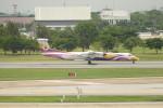 KKiSMさんが、ドンムアン空港で撮影したノックエア DHC-8-402Q Dash 8の航空フォト(写真)