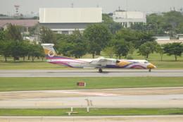 KKiSMさんが、ドンムアン空港で撮影したノックエア DHC-8-402Q Dash 8の航空フォト(飛行機 写真・画像)