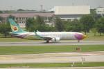 KKiSMさんが、ドンムアン空港で撮影したノックエア 737-86Jの航空フォト(写真)