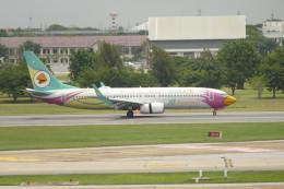KKiSMさんが、ドンムアン空港で撮影したノックエア 737-86Jの航空フォト(飛行機 写真・画像)