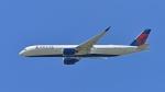 flytaka78さんが、成田国際空港で撮影したデルタ航空 A350-941XWBの航空フォト(写真)