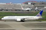 スポット110さんが、羽田空港で撮影したユナイテッド航空 787-9の航空フォト(写真)