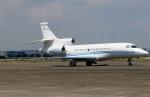 スポット110さんが、羽田空港で撮影したプライベートエア Falcon 2000の航空フォト(写真)