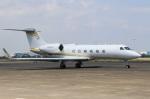 スポット110さんが、羽田空港で撮影したプライベートエア G-Vの航空フォト(写真)