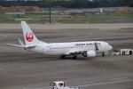 akinarin1989さんが、成田国際空港で撮影した日本航空 737-846の航空フォト(写真)