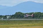 Dojalanaさんが、函館空港で撮影した中日本航空 EC135P2+の航空フォト(飛行機 写真・画像)