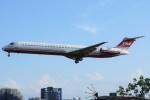デルタおA330さんが、台北松山空港で撮影した遠東航空 MD-83 (DC-9-83)の航空フォト(写真)
