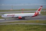 SKY☆101さんが、関西国際空港で撮影したエア・カナダ・ルージュ 767-33A/ERの航空フォト(写真)