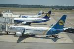TulipTristar 777さんが、ミラノ・マルペンサ空港で撮影したウクライナ国際航空 737-8HXの航空フォト(写真)