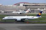 ハム太郎。さんが、羽田空港で撮影したルフトハンザドイツ航空 A350-941XWBの航空フォト(写真)