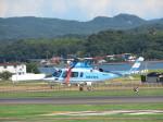 JA655Jさんが、出雲空港で撮影した島根県警察 A109E Powerの航空フォト(写真)