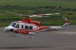 木人さんが、札幌飛行場で撮影した北海道防災航空隊 412EPの航空フォト(写真)