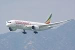HEATHROWさんが、香港国際空港で撮影したエチオピア航空 787-8 Dreamlinerの航空フォト(写真)