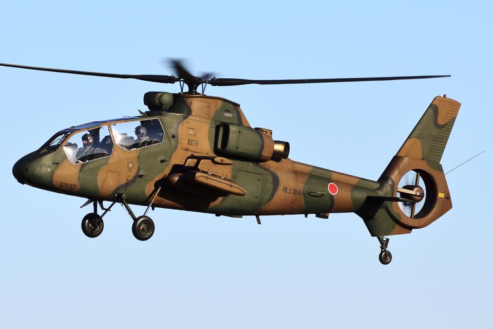 Flankerさんの陸上自衛隊 Kawasaki OH-1 (32637) 航空フォト