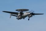 ジェットジャンボさんが、岩国空港で撮影したアメリカ海軍 E-2D Advanced Hawkeyeの航空フォト(写真)