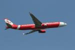 ムッシュさんが、成田国際空港で撮影したタイ・エアアジア・エックス A330-343Eの航空フォト(写真)