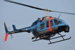Redpepperさんが、横浜ヘリポートで撮影した神奈川県警察 206L-4 LongRanger IVの航空フォト(写真)