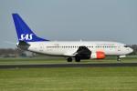 nobu2000さんが、アムステルダム・スキポール国際空港で撮影したスカンジナビア航空 737-705の航空フォト(写真)
