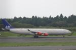 まーちらぴっどさんが、成田国際空港で撮影したスカンジナビア航空 A340-313Xの航空フォト(写真)