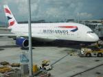 flyingmasさんが、香港国際空港で撮影したブリティッシュ・エアウェイズ A380-841の航空フォト(写真)