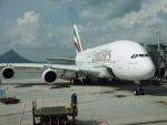 flyingmasさんが、香港国際空港で撮影したエミレーツ航空 A380-861の航空フォト(写真)
