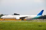 ちゅういちさんが、成田国際空港で撮影したガルーダ・インドネシア航空 777-3U3/ERの航空フォト(写真)