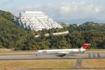 @あきやんさんが、南紀白浜空港で撮影した日本航空 MD-81 (DC-9-81)の航空フォト(写真)