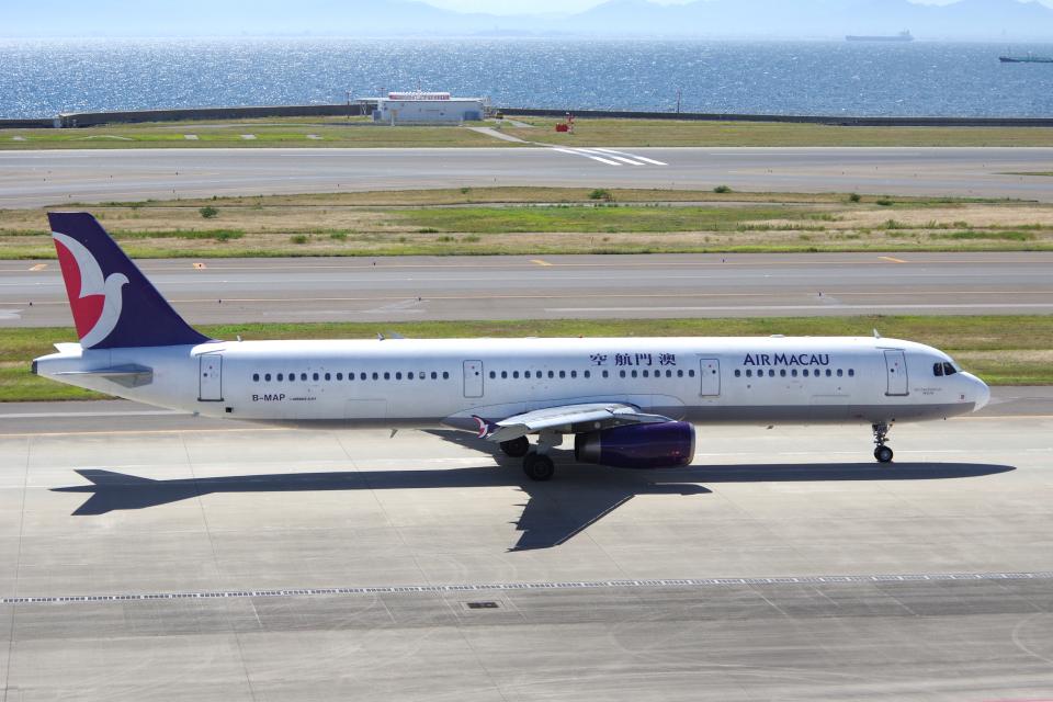 yabyanさんのマカオ航空 Airbus A321 (B-MAP) 航空フォト