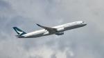 FlyingMonkeyさんが、香港国際空港で撮影したキャセイパシフィック航空 A350-941XWBの航空フォト(写真)