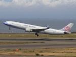 6500さんが、中部国際空港で撮影したチャイナエアライン A330-302の航空フォト(写真)