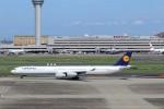 ハム太郎。さんが、羽田空港で撮影したルフトハンザドイツ航空 A340-642Xの航空フォト(写真)