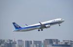 kumagorouさんが、伊丹空港で撮影した全日空 A321-272Nの航空フォト(飛行機 写真・画像)
