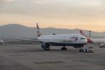 delawakaさんが、サンパウロ・グアルーリョス国際空港で撮影したブリティッシュ・エアウェイズ 777-336/ERの航空フォト(写真)