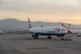 delawakaさんが、サンパウロ・グアルーリョス国際空港で撮影したブリティッシュ・エアウェイズ 777-336/ERの航空フォト(飛行機 写真・画像)