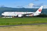 EY888さんが、熊本空港で撮影した日本航空 767-346/ERの航空フォト(写真)