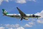 キイロイトリさんが、福岡空港で撮影したエバー航空 A330-302Xの航空フォト(写真)