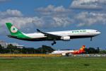 コージーさんが、成田国際空港で撮影したエバー航空 A330-302の航空フォト(写真)