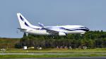 FlyingMonkeyさんが、成田国際空港で撮影したインターナショナル・ジェットクラブ 737-7GV BBJの航空フォト(写真)