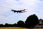 まいけるさんが、ロンドン・ヒースロー空港で撮影したブリティッシュ・エアウェイズ 777-236/ERの航空フォト(写真)