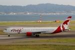 ハピネスさんが、関西国際空港で撮影したエア・カナダ・ルージュ 767-375/ERの航空フォト(写真)