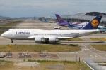 たみぃさんが、関西国際空港で撮影したルフトハンザドイツ航空 747-430の航空フォト(写真)